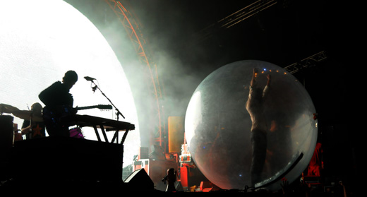 Flaming Lips na Off Festival 2010